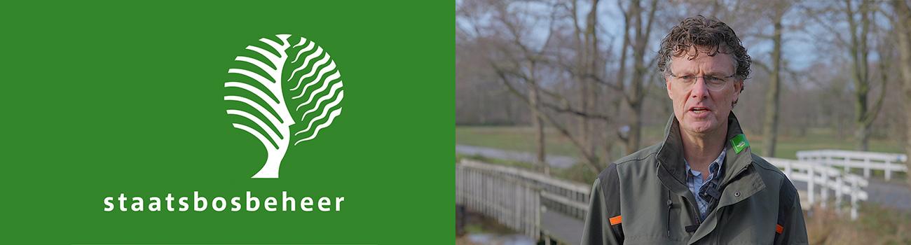 Logo Staatsbosbeheer en foto van Jaco Harmsma